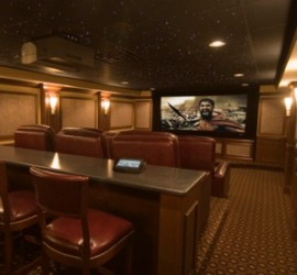 In the News - A.J. Burnett Gets All-Star Home Theater