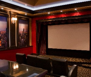 In the News - Home Theater Décor That Will Make You Flip
