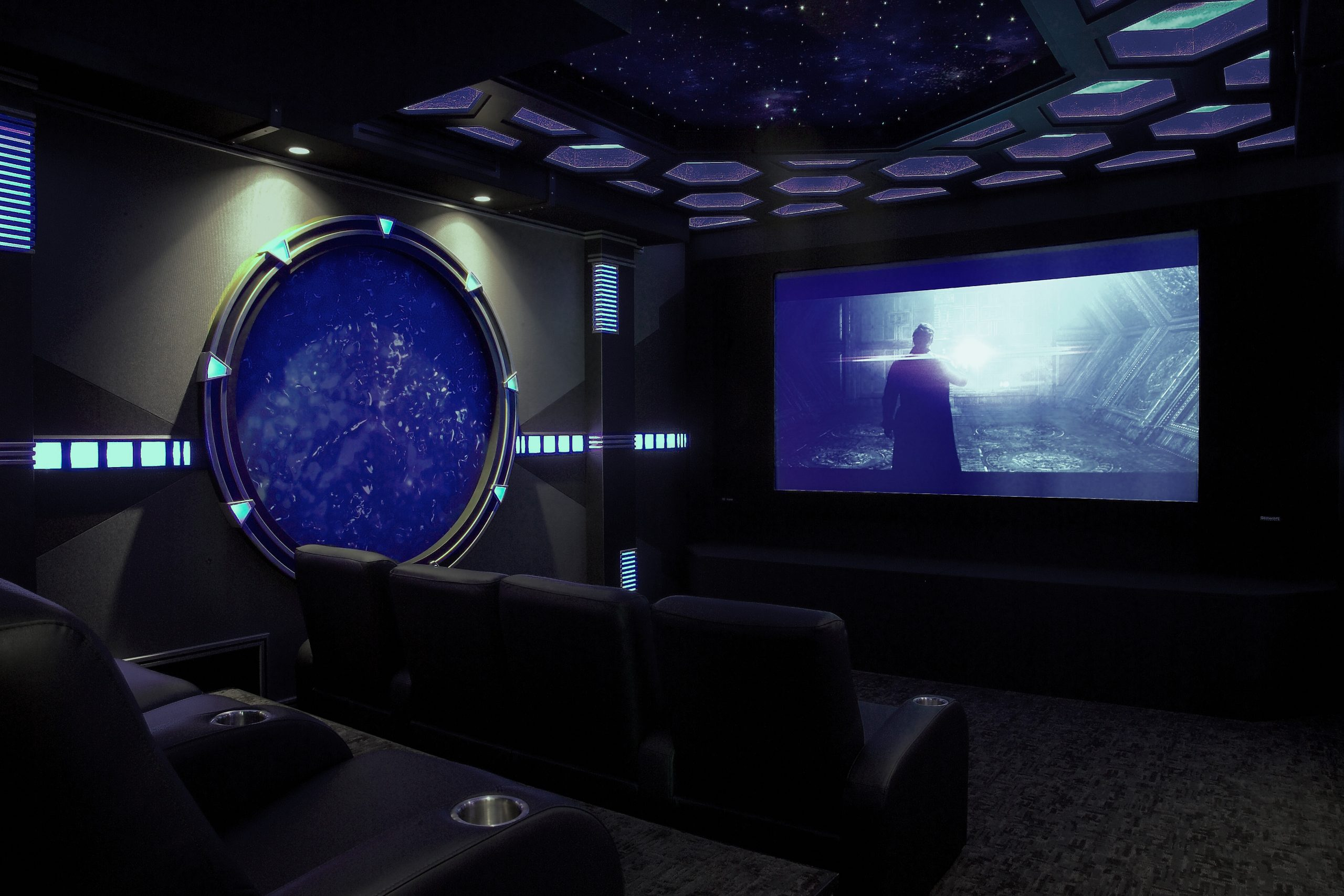 Sci-Fi Home Theater is Portal to Another World